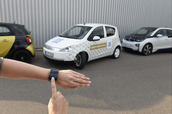 ZF Smart Urban Vehicle: voor krappe plekjes