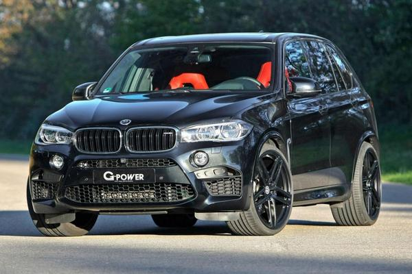 G-Power propt 700 pk in BMW X5 M
