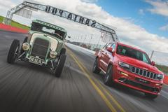 Jeep Grand Cherokee SRT vs. Hot Rod