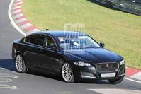 Jaguar XF LWB  spyshots