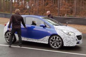 Opel Corsa OPC teaser, klaar voor Genève