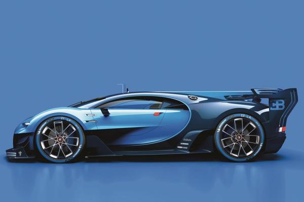Bugatti stapt in de wereld die Gran Turismo heet