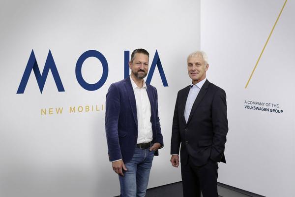 Volkswagens dertiende 'merk' heet Moia