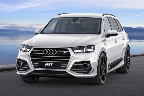Abt pakt nieuwe Audi Q7 aan