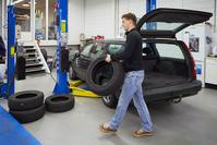 Volvo 850 bandenwissel