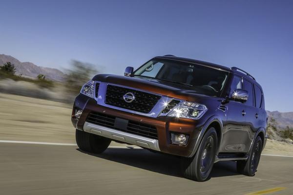 Nieuwe Nissan Armada gepresenteerd