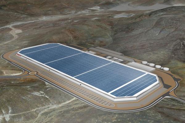 Tesla opent zijn 'gigafabriek'