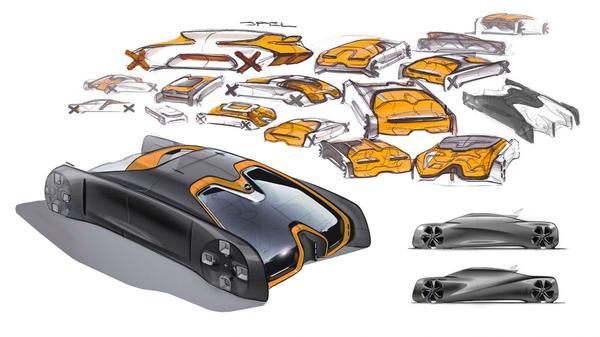 Opel Iconic Concept 2030 blikt vooruit