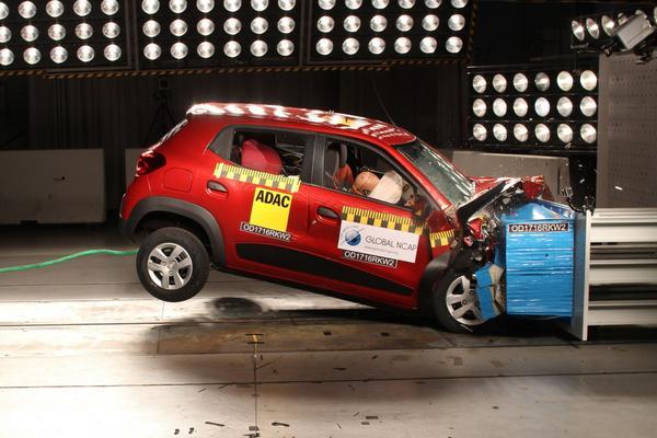 Vijfmaal nul NCAP-sterren in India