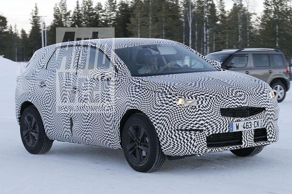 Opel Grandland X gesnapt!