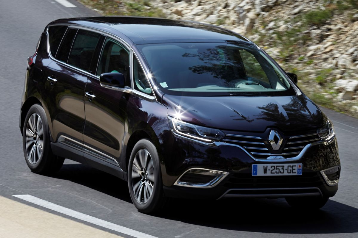 test renault espace 3 5 v6 initiale. Black Bedroom Furniture Sets. Home Design Ideas
