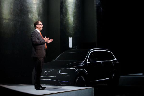 Volvo aan driecilinder benzinemotor