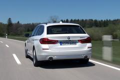 BMW 5-serie Touring - Rij-impressie