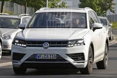 Volkswagen Touareg weer gespot
