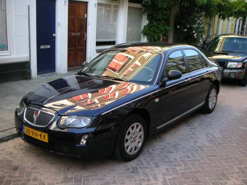 rover 75 2 0 cdt business edition 2005 gebruikerservaring autoreviews. Black Bedroom Furniture Sets. Home Design Ideas