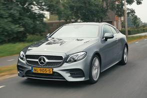 Mercedes-Benz E200 Coupe - Rij-impressie