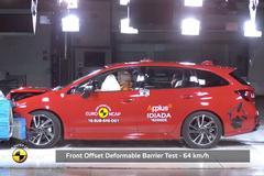 Subaru Levorg - Crashtest - EuroNCAP