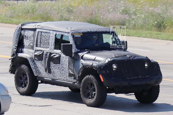 Gesnapt: Jeep Wrangler