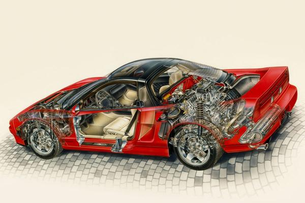 Doorzaag-zaterdag: Honda NSX