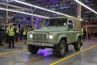Laatste Land Rover Defender