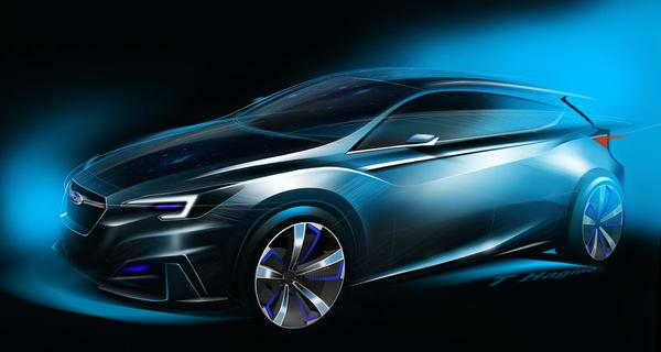 Subaru schetst nieuwe Impreza voor ons