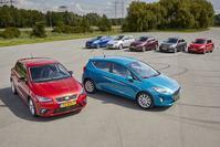Ford Fiesta - Kia Rio - Mazda 2 - Opel Corsa - Renault Clio - Seat Ibiza - Suzuki Swift