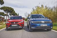 Seat Ateca vs. Volkswagen Tiguan