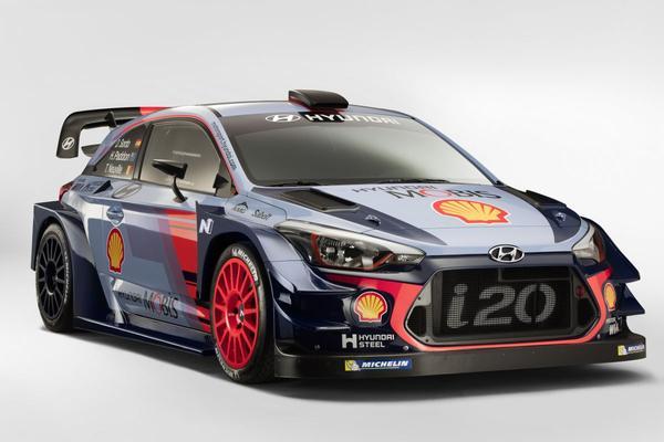 Hyundai hijst i20 Coupé in WRC 2017-kostuum