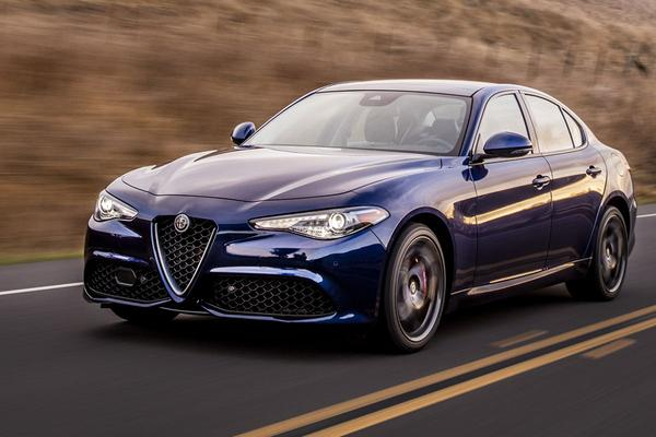 Alfa Romeo Giulia weinig succesvol in VS