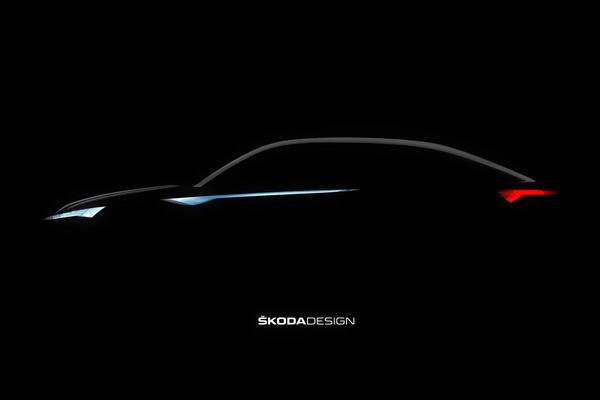 Skoda toont profiel Vision E Concept