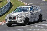 BMW X3 spyshots