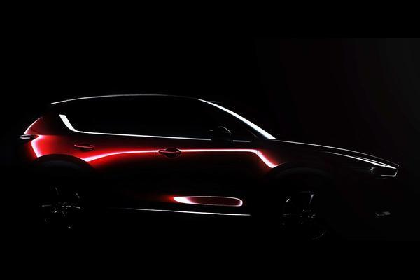 Nieuwe Mazda CX-5 schemert door