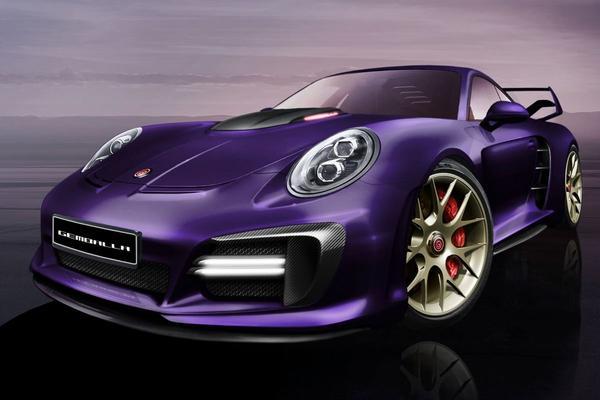 Gemballa Avalanche: 911 Turbo met 820 pk