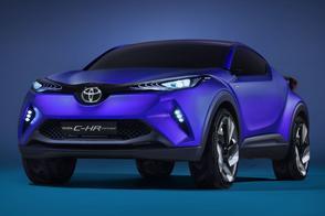 Toyota C-HR Concept: nieuw cross-over-geweld
