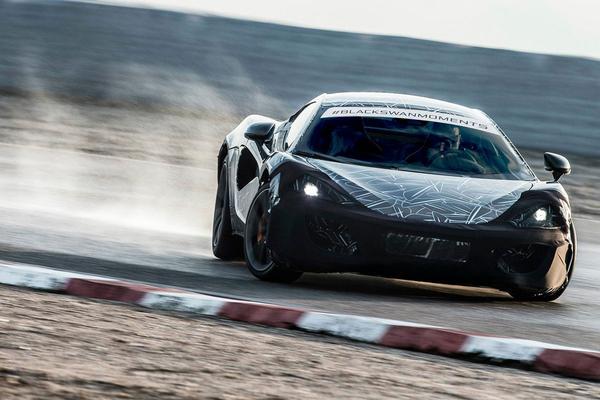 McLaren Sports Series schuift voorbij