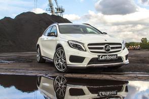 GLA aangepakt: Mercedes GLA-klasse van Carlsson