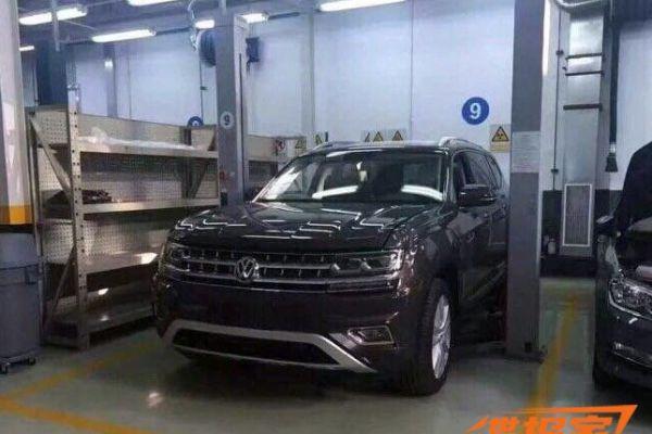 Volkswagen 'Teramont' zonder camouflage