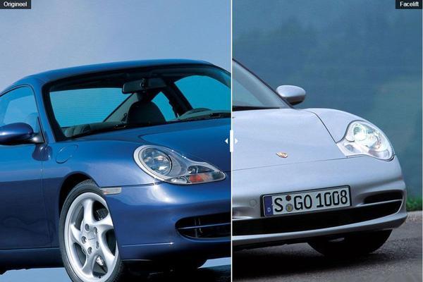 Facelift Friday: Porsche 911 (996)