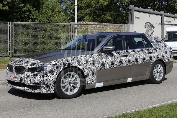 Toch meer spionage: BMW 5-serie