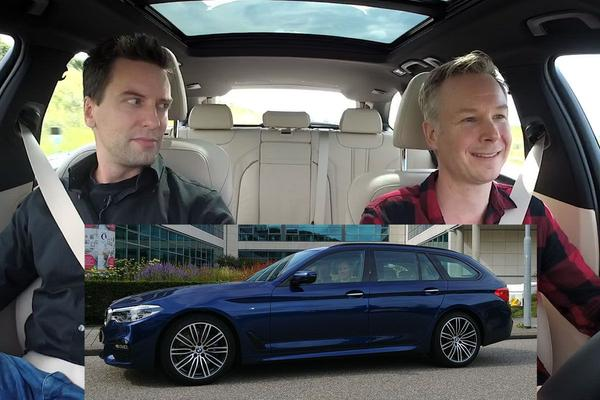 Video: LiveDrive #31 - BMW 520i Touring