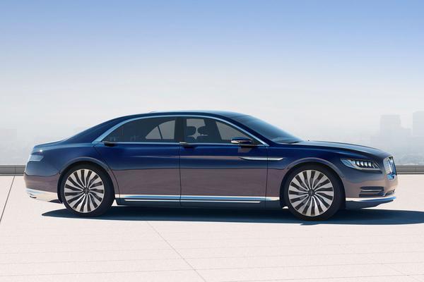 Lincoln Continental maakt comeback!
