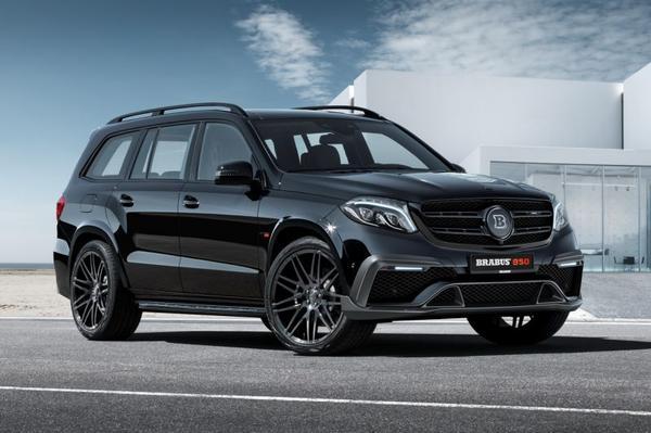 Brabus verbouwt Mercedes-Benz GLS-klasse