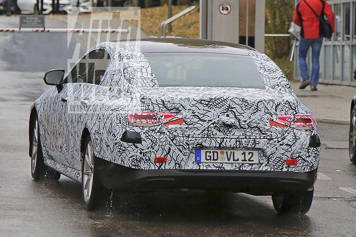 2018 - [Mercedes] CLS III  9qry883b0utt