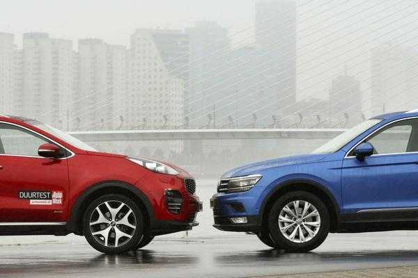 Video: Volkswagen Tiguan vs Kia Sportage - Dubbeltest