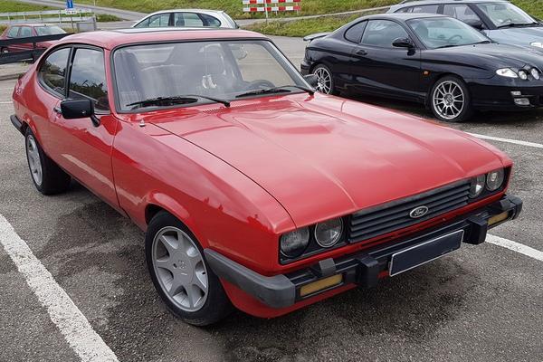 In het wild: Ford Capri MKIII