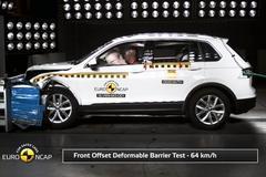 Volkswagen Tiguan Crashtest door Euro NCAP