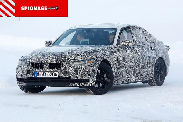 Video: BMW 3-Serie 2018 - Spionage
