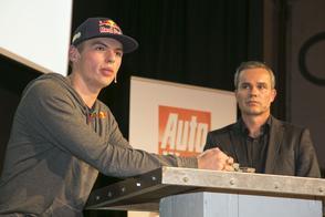 Max Verstappen openhartig bij AutoWeek College