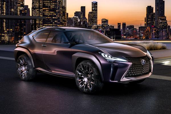 Uit alle hoeken: Lexus UX Concept
