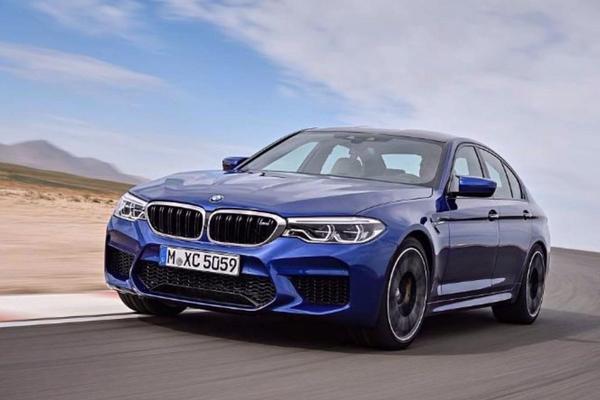 Gelekt: BMW M5